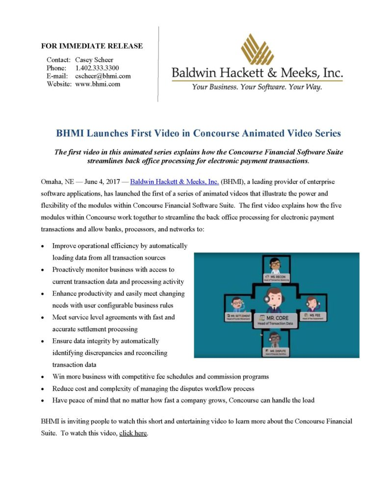 press releases Press Releases BHMI 2017 Concourse Animated Videos Page 1 791x1024