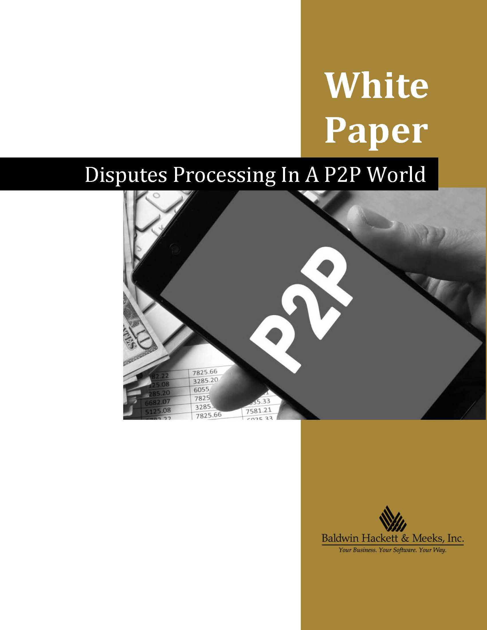 NEW WHITE PAPER: DISPUTES PROCESSING IN A P2P WORLD