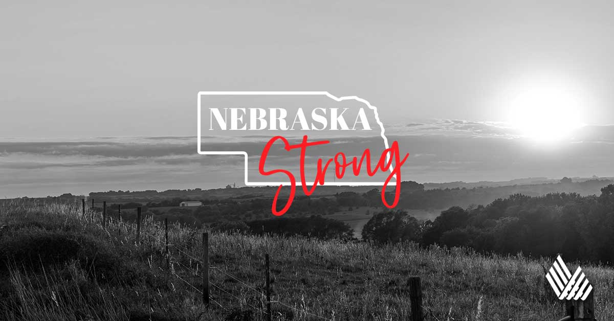 AMIDST HISTORIC FLOODING, WE REMAIN #NEBRASKASTRONG