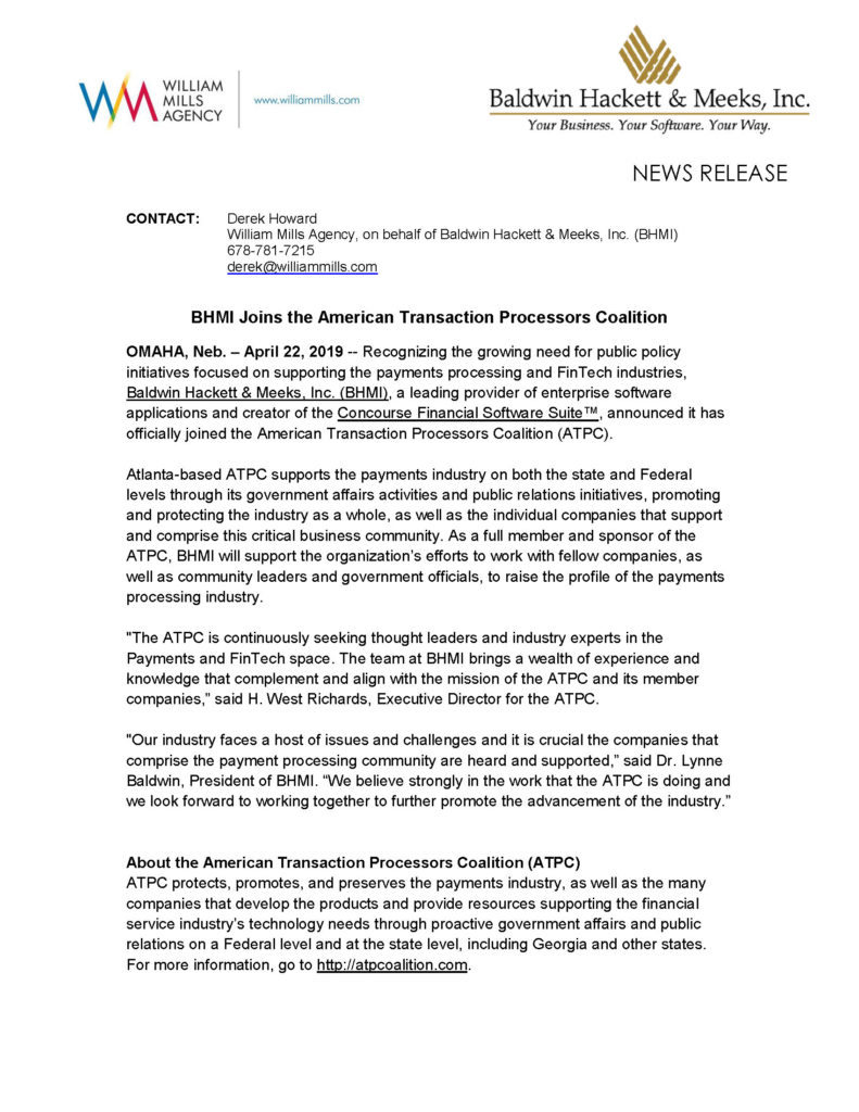 press releases Press Releases BHMI ATPC Sponsorship Release 791x1024