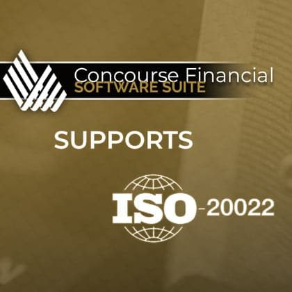 Concourse Supports ISO 20022 Payments Format and SEPA