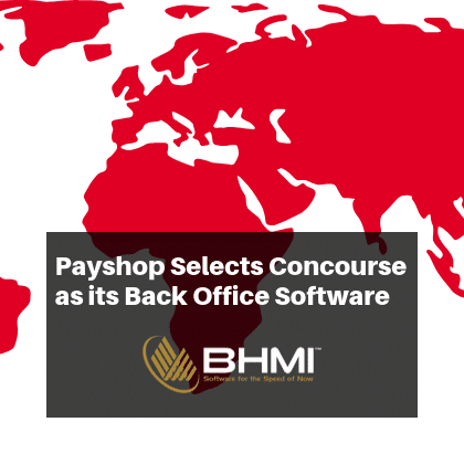 Payshop Selects Concourse as its Back Office Software