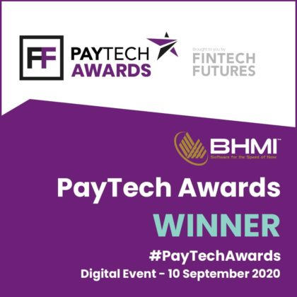 """BHMI Wins """"Best Real-time Payments Solution"""" at 2020 PayTech Awards"""