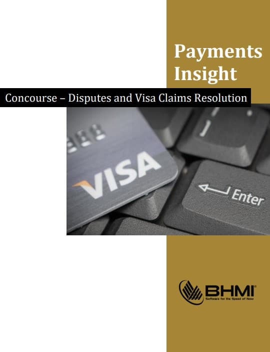 Concourse - Disputes and Visa Claims Resolution cover
