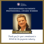 "BHMI's Lynne Baldwin Wins Women in Payments ""Distinguished Payments Professional"" Award"