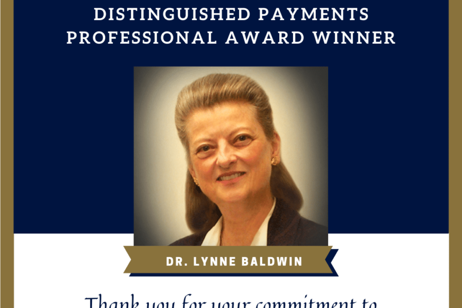"""BHMI's Lynne Baldwin Wins Women in Payments """"Distinguished Payments Professional"""" Award"""