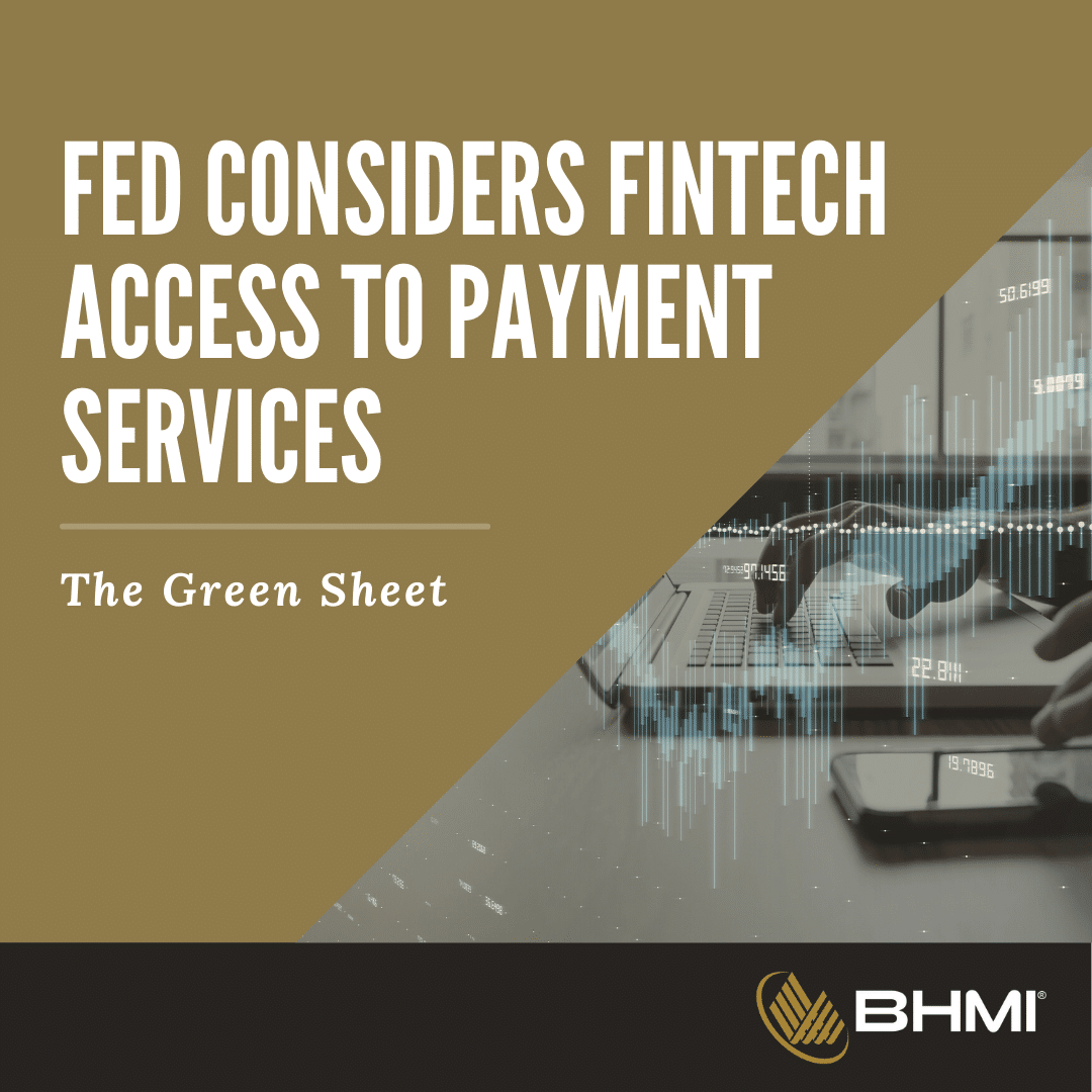 Fed Considers Fintech Access to Payment Service